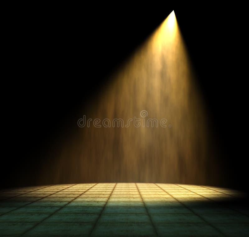 Lichtstraal vector illustratie