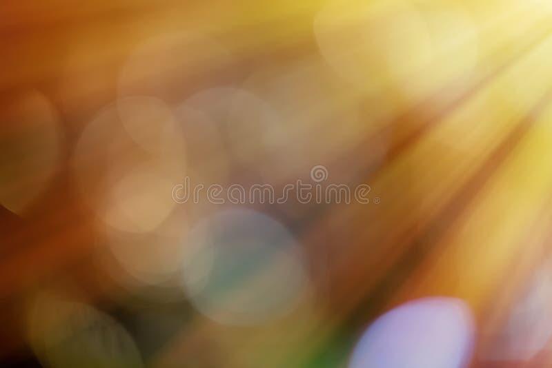Lichtstralen en zongloed vector illustratie