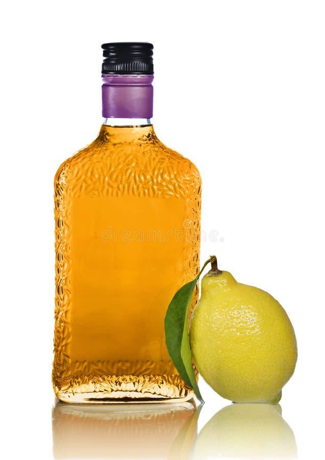 Licor do citrino imagem de stock royalty free