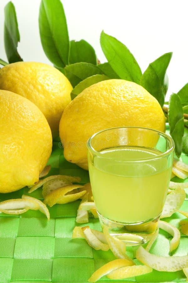 Licor do limão imagens de stock royalty free