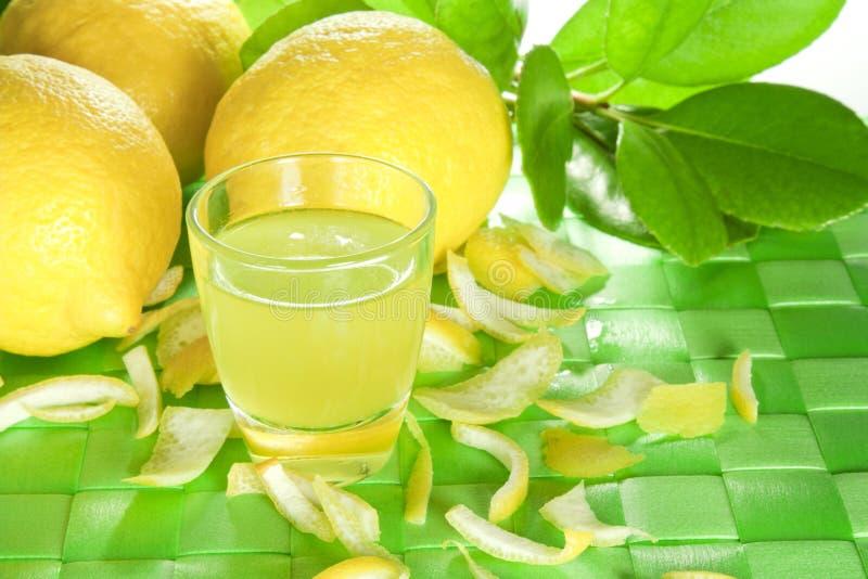 Licor do limão imagem de stock royalty free