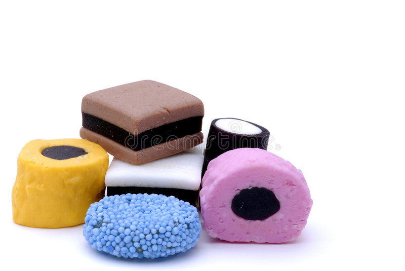 Licorice Candy stock photo