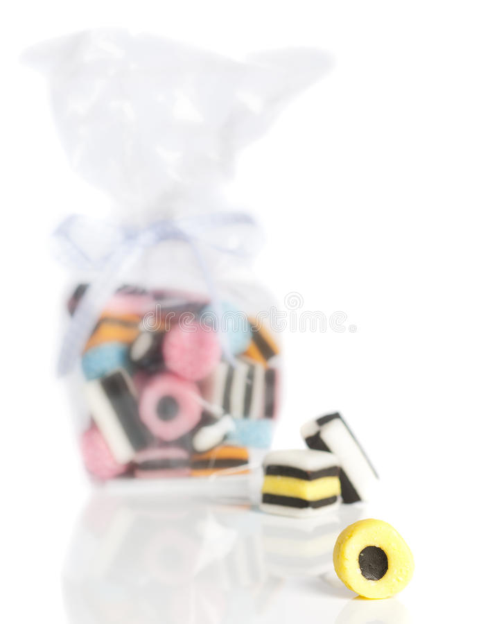 Licorice Sweets Royalty Free Stock Photography