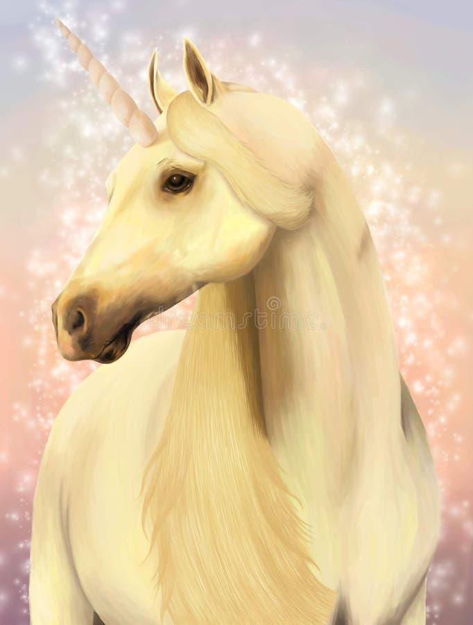 Licorne. illustration libre de droits