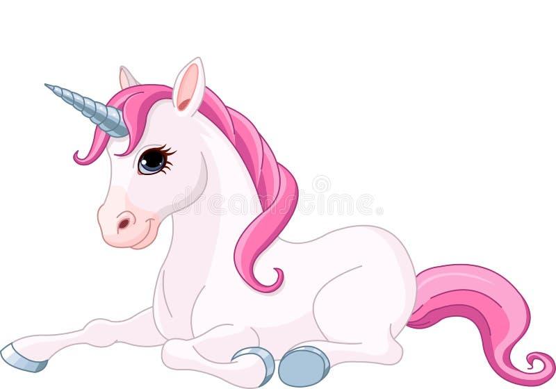 Licorne adorable illustration de vecteur
