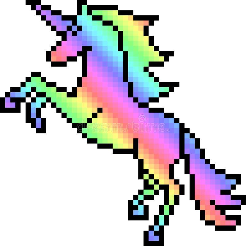 Pixel De Licorne Qui Fait Un Dab