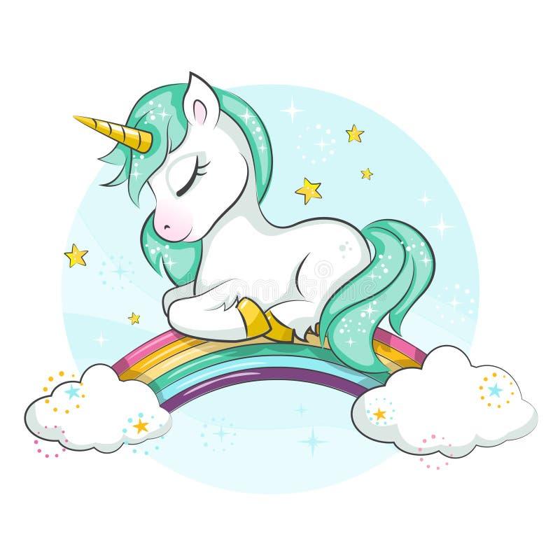 download licorne magique mignonne petit poney illustration de vecteur illustration du carte beau - Poney Licorne