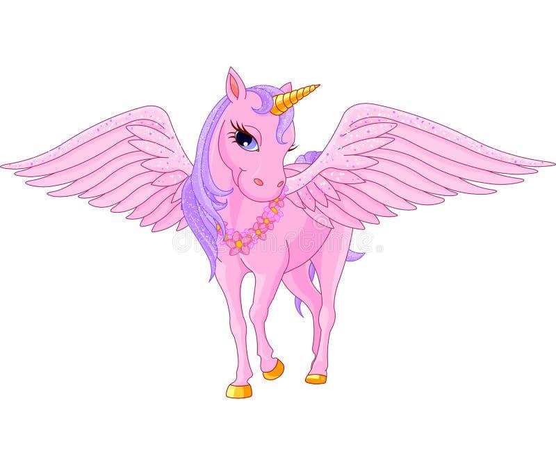 Licorne Pegasus illustration libre de droits