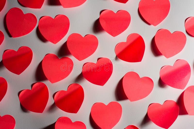 liczą się s walentynki serca zdjęcia stock