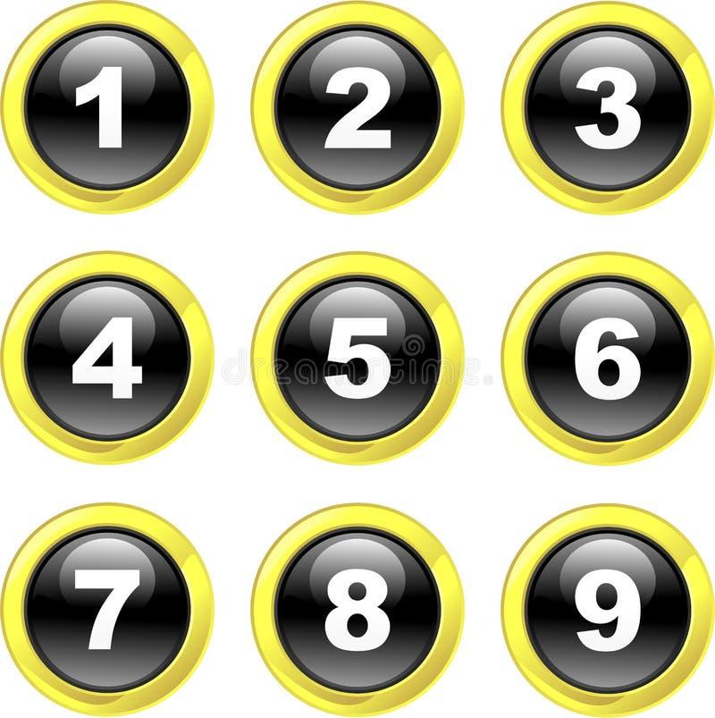 liczba ikony ilustracji