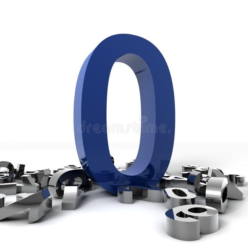 liczba zero ilustracji