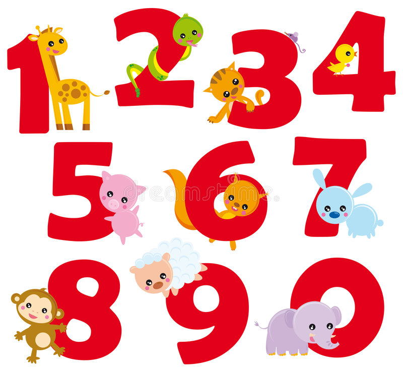 liczby ilustracji