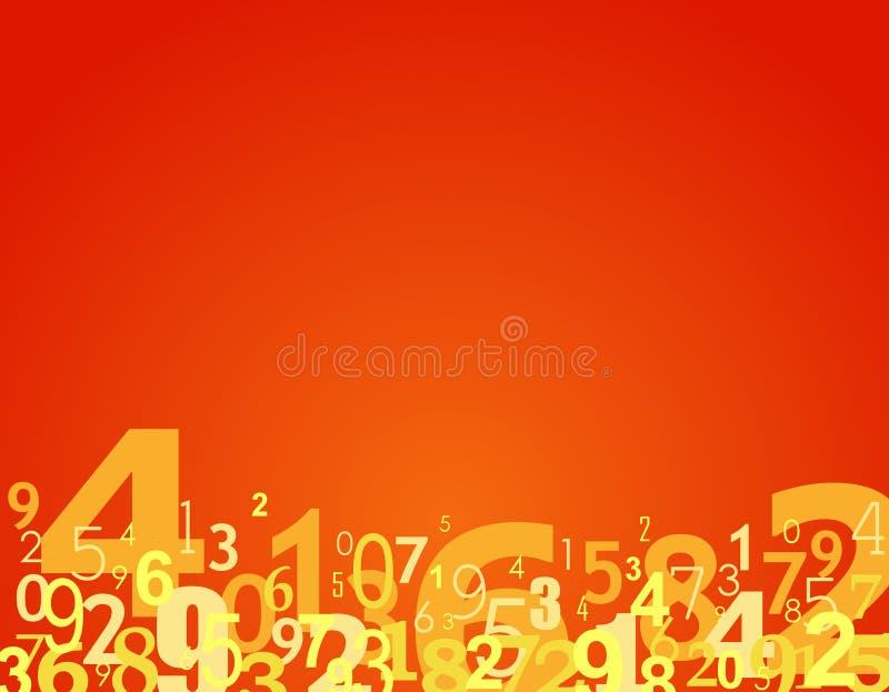 Download Liczby tło ilustracji. Obraz złożonej z nauka, bluzy, przypadkowy - 6298109