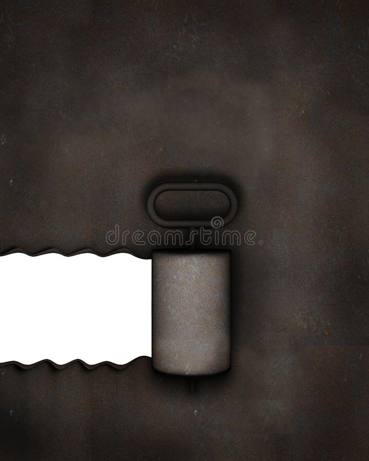 Lid opening background royalty free illustration