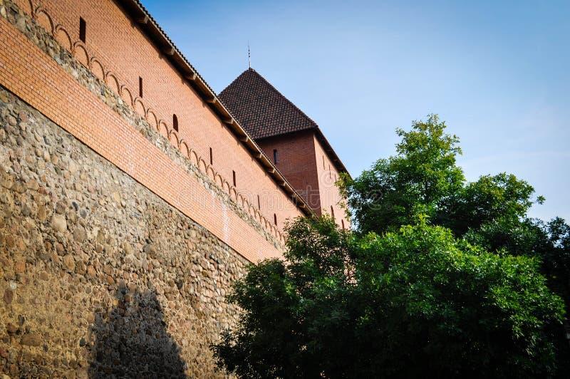 lida belarus Lida Castle Festival de la cerveza foto de archivo