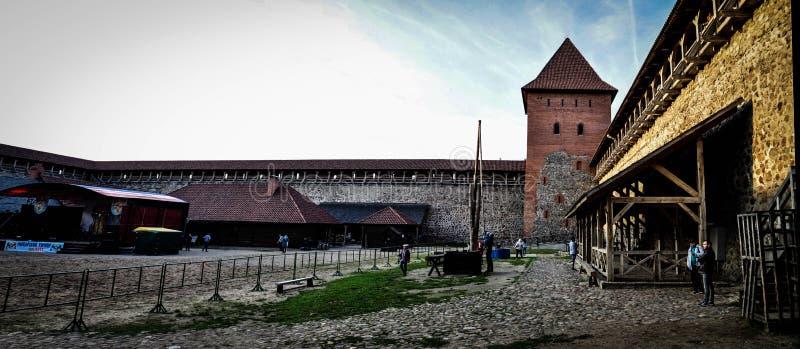 lida Białoruś Lida kasztel Piwny festiwal zdjęcia stock
