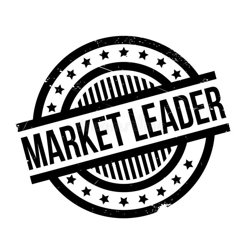 Lider Rynku pieczątka ilustracja wektor
