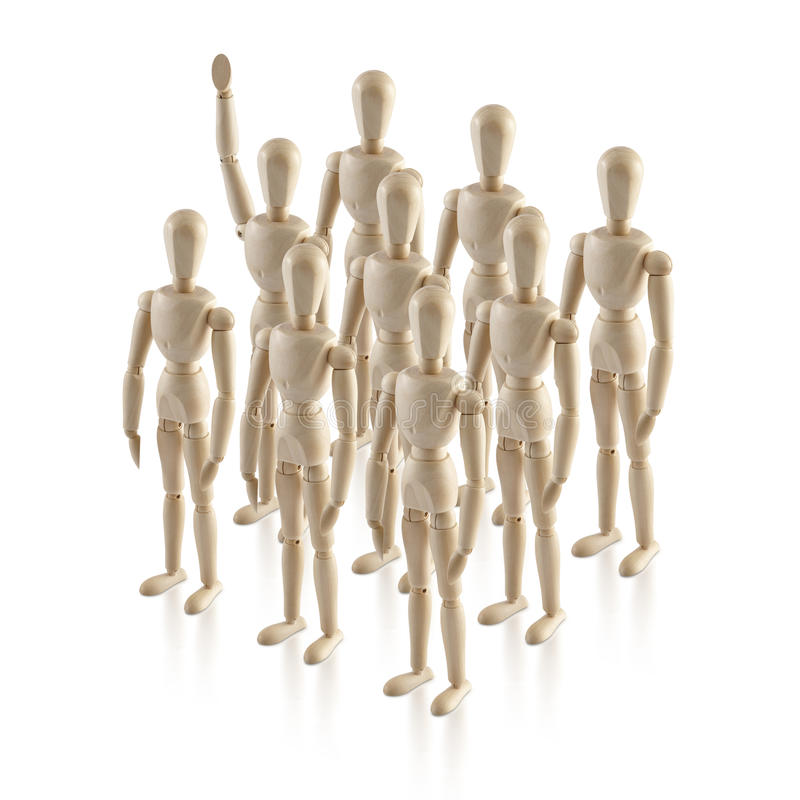 A liderança, headship, pensa fora da caixa, nenhum proeminente 1 fotos de stock royalty free