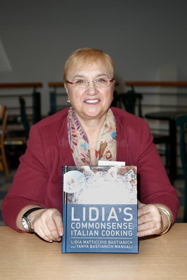 Lidia Bastianich στοκ εικόνες με δικαίωμα ελεύθερης χρήσης