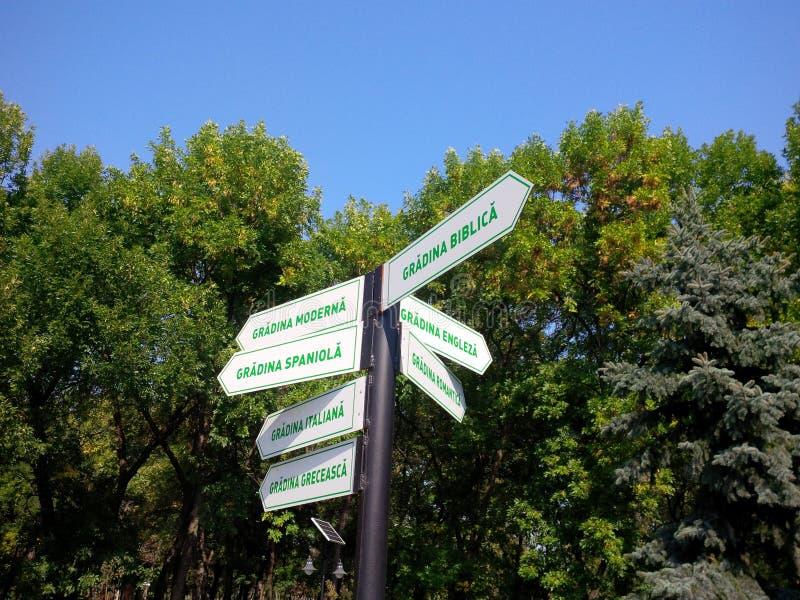 Lidia Park Garderns royaltyfri fotografi