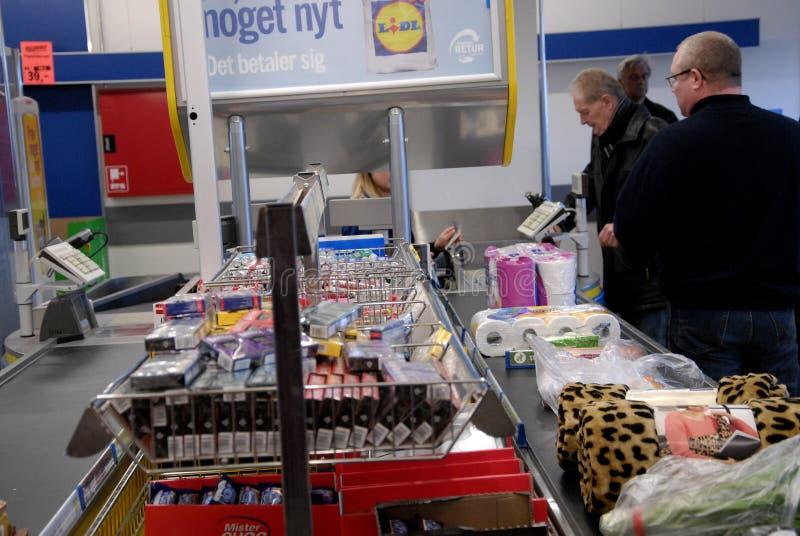 LIDL sklep spożywczy zdjęcia stock