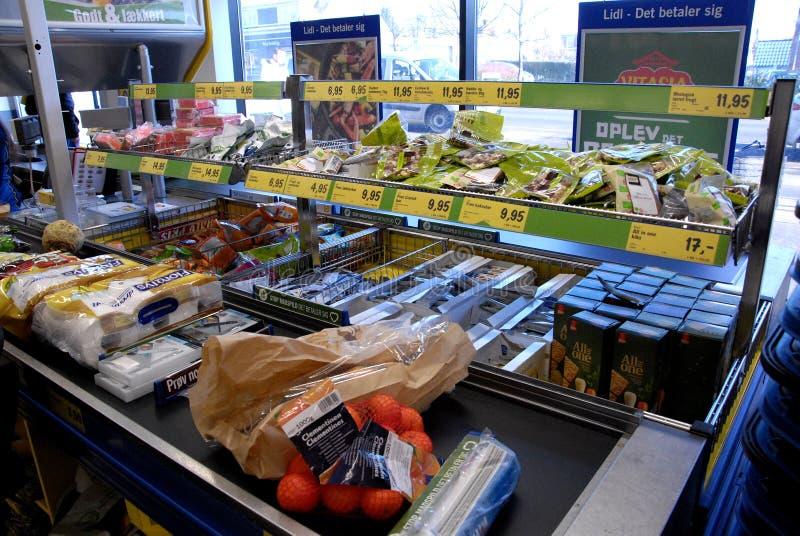 LIDL sklep spożywczy obraz stock