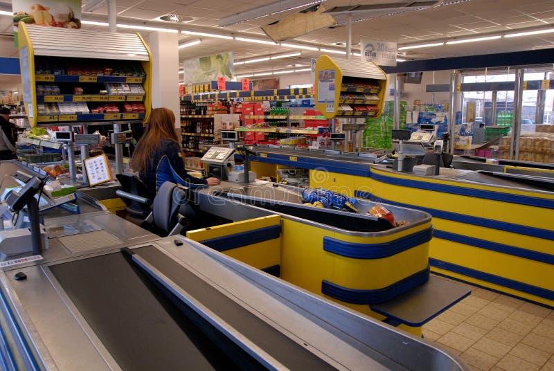 LIDL sklep spożywczy zdjęcia royalty free