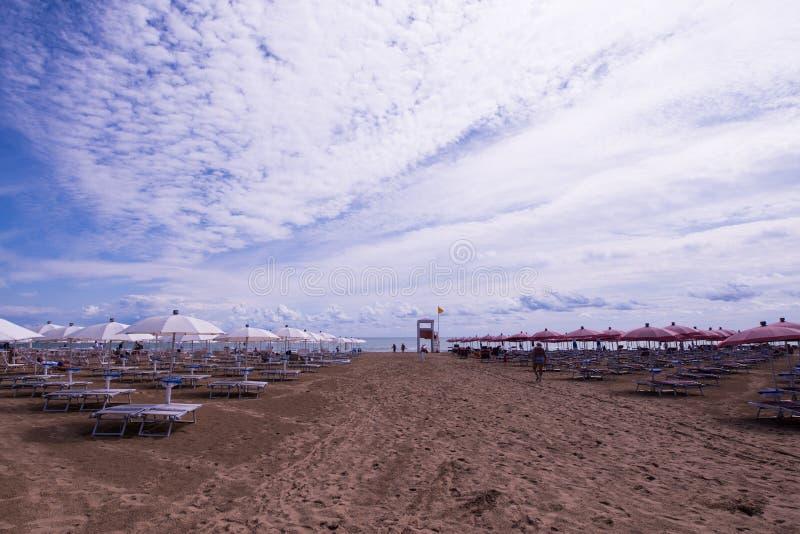 Lido二耶索洛海滩 库存图片