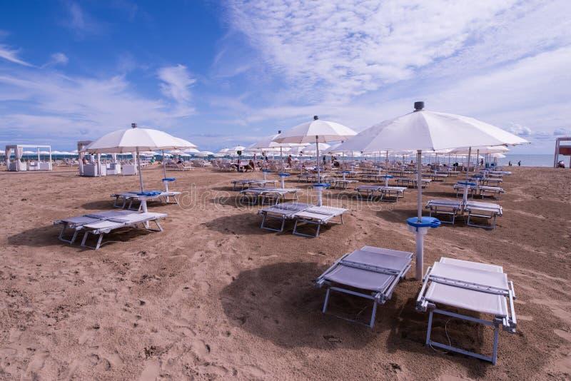 Lido二耶索洛海滩 库存照片