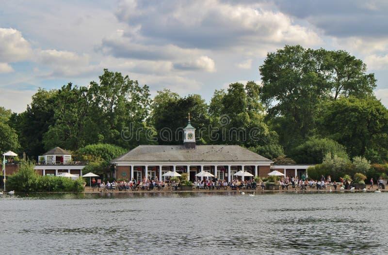 Lido酒吧和咖啡馆在蛇纹石 免版税库存照片