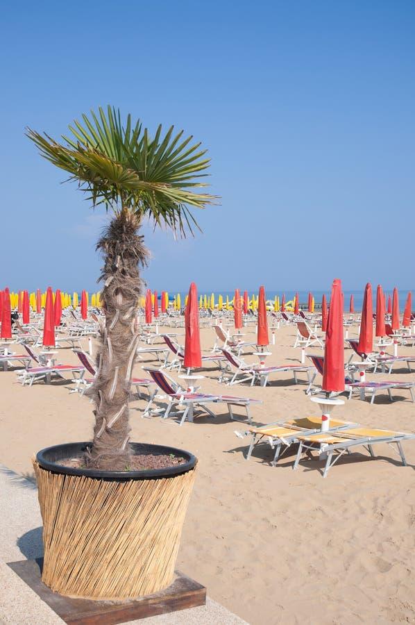 Lido di Jesolo, Mer Adriatique, Italie photos libres de droits