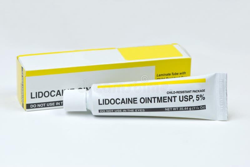 Lidocaine fotos de stock