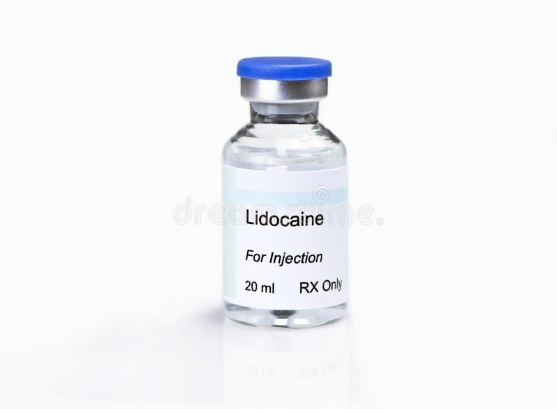 Lidocaine foto de stock