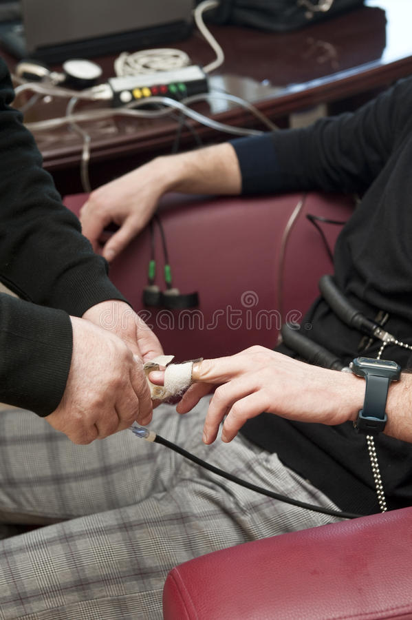 Download Lie detector 02 stock photo. Image of investigation, cord - 18743614