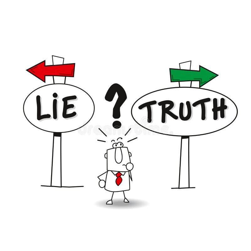 Free Lie Or Thruth Stock Photos - 173091973