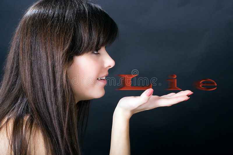 Download Lie Or Truth? Stock Photography - Image: 3331542