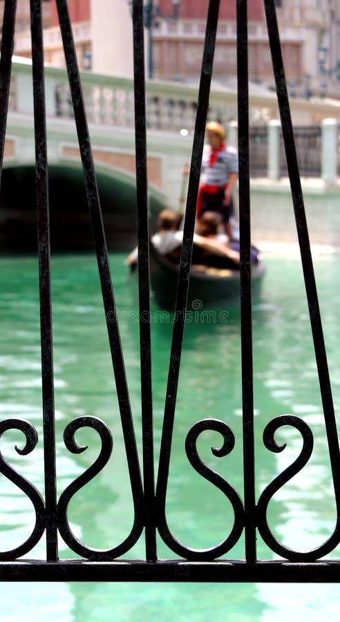 Download Liebe auf einer Gondel stockfoto. Bild von boot, valentines - 70270