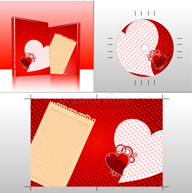 Liebe CD02 vektor abbildung