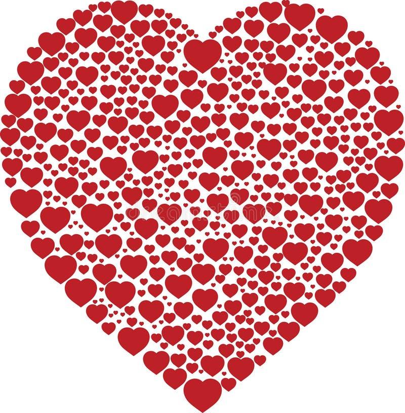 Liebe in einer stock abbildung