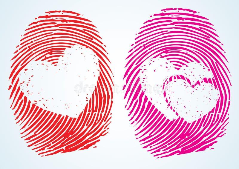 Liebe/Geliebte vektor abbildung
