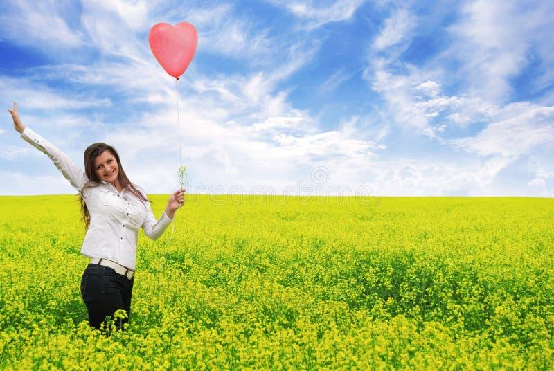 Liebe ist in der Luft 2 stockbild