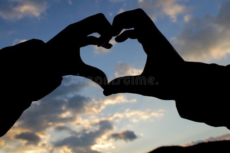 Liebe ist in der Luft lizenzfreies stockbild
