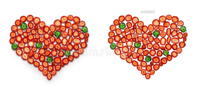 Liebe ist süß und rot lizenzfreie stockfotografie