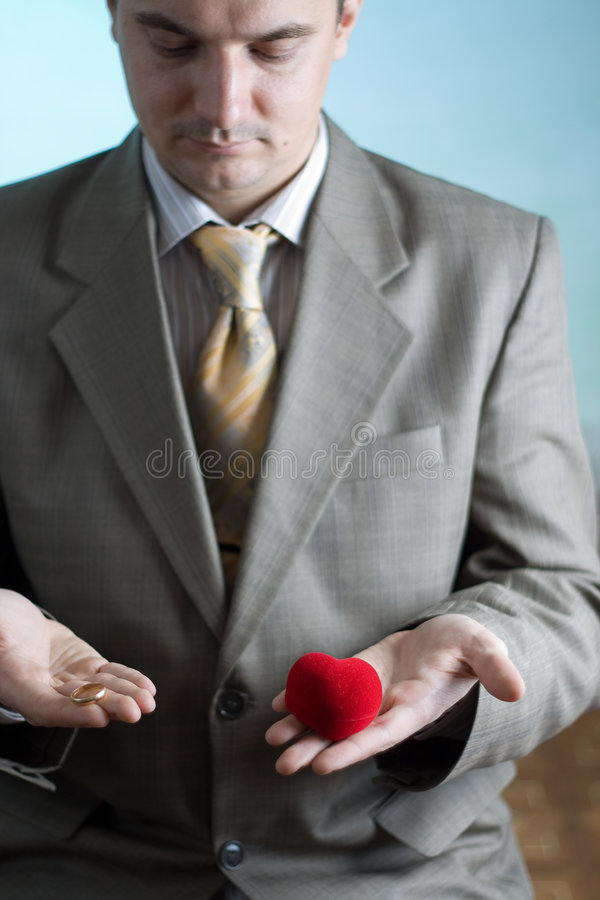 Liebe oder Verbindung lizenzfreies stockfoto