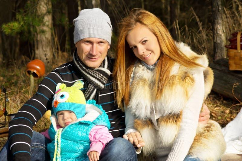 Liebe und Harmonie, die Familiennatur stockfotos