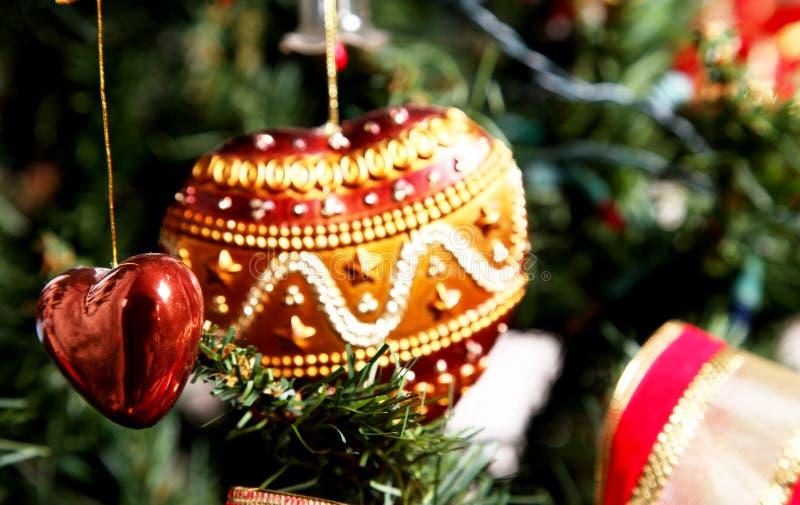 Liebe und Weihnachten lizenzfreies stockfoto