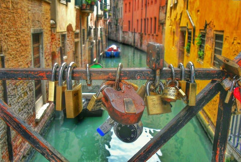 Liebe in Venedig lizenzfreies stockbild