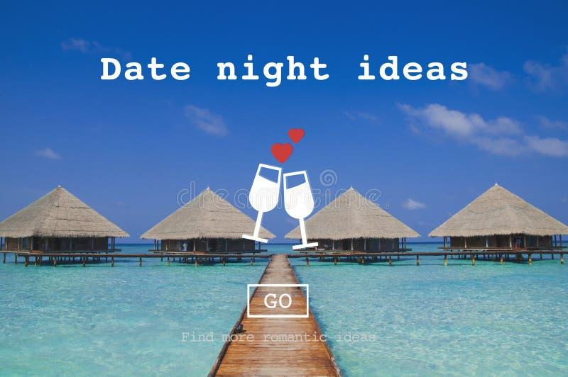 Liebe zitiert Romance Valentinsgruß-Website-Konzept lizenzfreie stockbilder