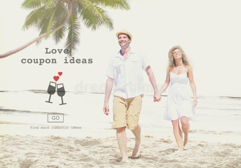 Liebe zitiert Romance Valentinsgruß-Website-Konzept lizenzfreies stockbild