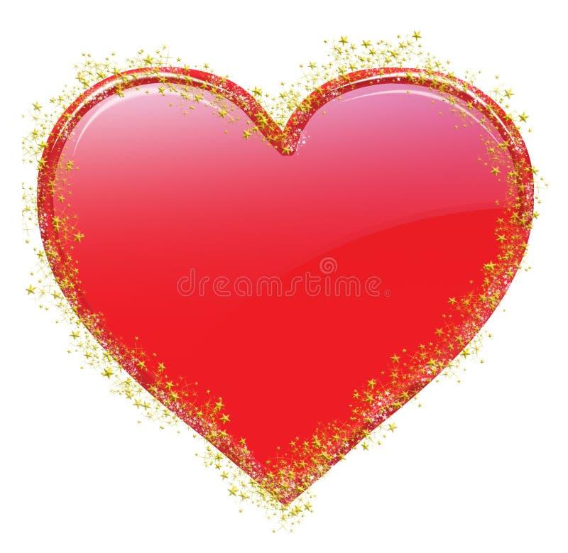 Lieben Sie Valentinsgruß 7 lizenzfreie abbildung